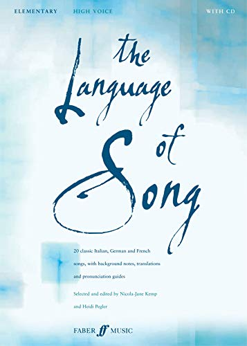 The Language of Song -- Elementary: High Voice, Book & CD (Faber Edition)