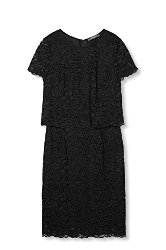Collection Donna Esprit black Vestito Nero Z0qnSpSgU