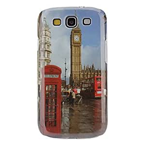 Big Ben Pattern Hard Case with HD Screen Protector and Stylus for Samsung Galaxy S3 I9300