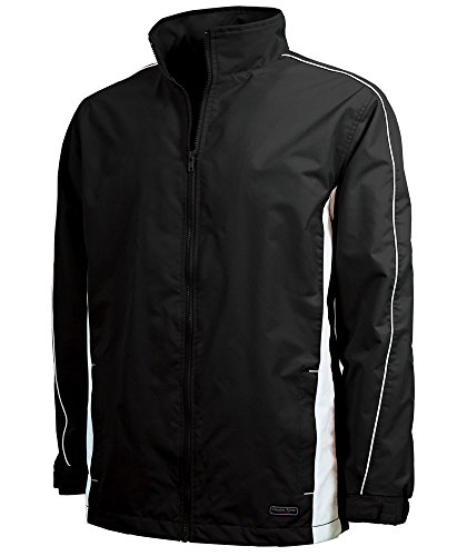 Charles River Youth Pivot Jacket Black / White XL