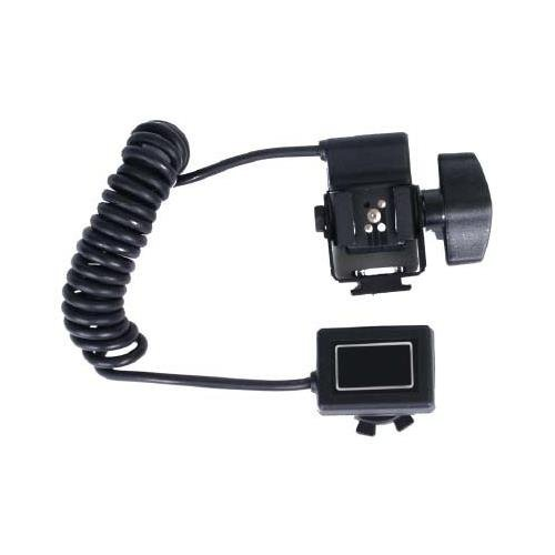 Adorama Off-Camera TTL Coiled Flash Cord for All Olympus Digital SLR Cameras, with Flash Tilt Capability, Extends to 6'.