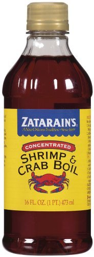 Zatarains Concentrated Shrimp & Crab Boil 16 oz (Single)