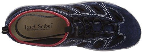 Josef Seibel Milo 03 - zapatilla deportiva de cuero hombre azul - Blau (949 795 jeans/schwarz)