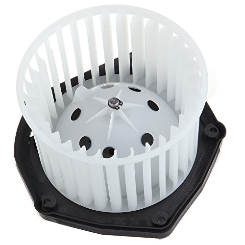 HVAC plastic Heater Blower Motor w/Fan Cage ECCPP fit for Cadillac Chevy C3500 Truck / K1500 Truck / K2500 Truck / K3500 Truck - Blower Motor K1500 Resistor