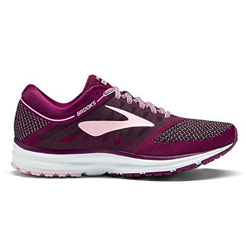 Plum Donna Black Brooks Scarpe Running da Pink Revel X0xnaqBw1
