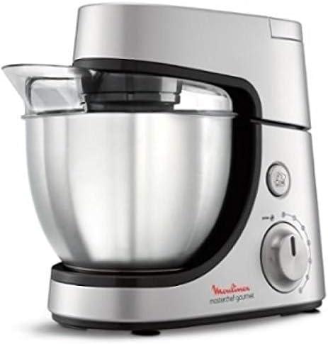 ماكينة المطبخ مولينكس ماستر شيف جورميت بسعة ٤,٦ لتر – فضي (QA503D27)