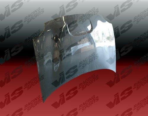 (VIS Racing (VIS-OJJ-072) Black Carbon Fiber Hood SRT Style for Dodge Neon (SRT4) 4DR 03-05)