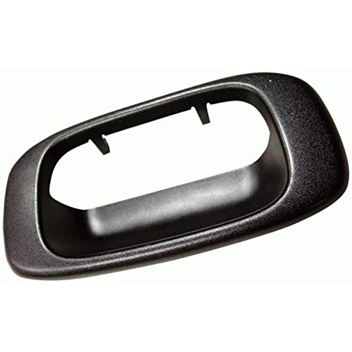 Parts N Go 99-07 Silverado Tailgate Bezel Trim Chevy GMC Tail Gate Handle Trim Black Sierra Classic 1999-2007 - GM1916102, GM 15046512, 15228539, 15228540