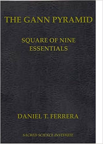 THE GANN PYRAMID: Square of Nine Essentials : Daniel T  Ferrera