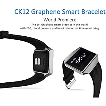 BOND CK12 Waterproof Smart Watch ECG Heart Rate Blood Pressure Sleep Monitoring Bluetooth Wristbands for Android