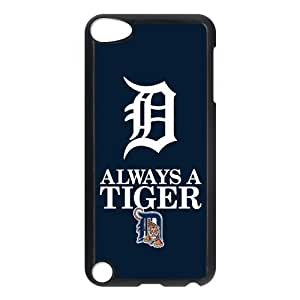 Customize Detroit Tigers MLB Back Case for ipod Touch 5 JNIPOD5-1170