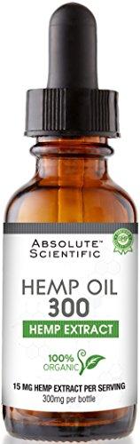 Absolute Scientific Hemp Oil Dropper product image