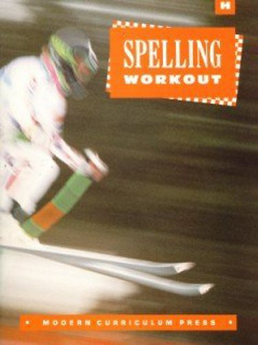 Spelling Workout, Grade 8, Level H (Student Edition)