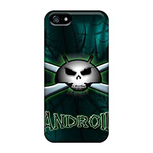 Pretty JcXyWSs5170cejcX Iphone 5/5s Case Cover/ Droid Skull Series High Quality Case