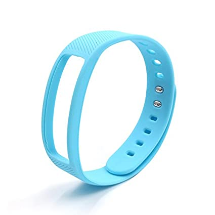 Amazon In Buy Designeez Silicone Wristband Blue Online At Low
