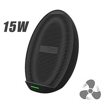 Amazon.com: JDWAN - Cargador inalámbrico con ventilador ...
