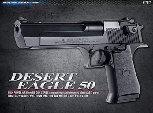 AirSoft Gun Plastic Model Kit Desert Eagle 50 6mm BB Pistol Toy ()