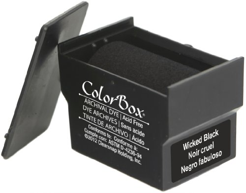 Rollagraph Archival Dye Cartridge Standard, Wicked Black ()