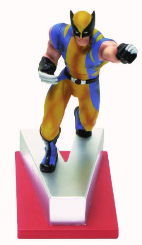 "Marvel Resin Figures - Wolverine on Letter Base ""V"""