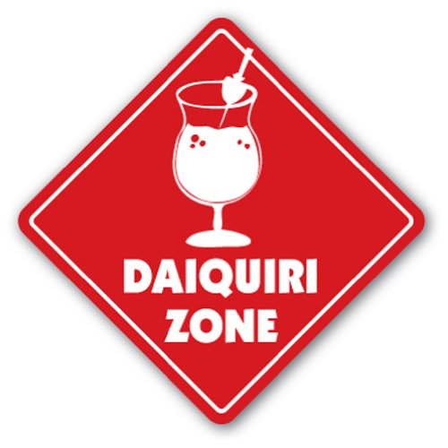 DAIQUIRI ZONE Sign xing gift novelty drink frozen cocktail margarita