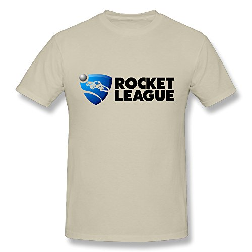 JAX Men's Make Your Own Tee Shirt Rocket PL Logo 3X Natural