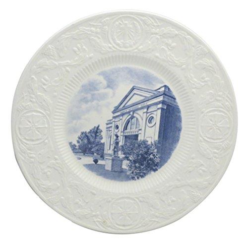 Wedgwood Duke University Blue Dinner Plate (Craven Memorial Hall) (Imperfect)