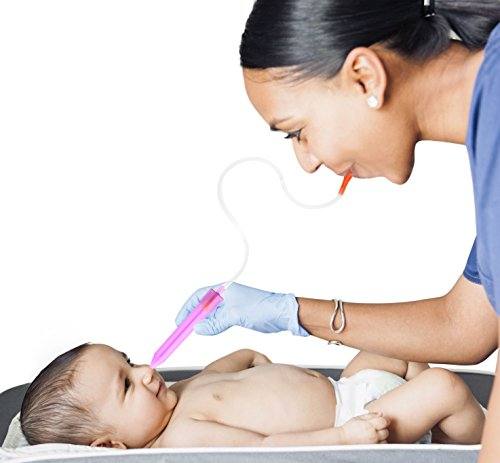 Baby Nasal Aspirator with 24 Hygiene Filters to Clear Infants Stuffy Noses, Hospital Grade Snotsucker Uses Parents Own Suction to Keep Babies Mucus-Free by Bundle Tumble by BundleTumble (Image #2)