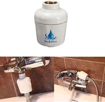 Baño In-Line filtro de alcachofa de ducha de descalcificador de ...