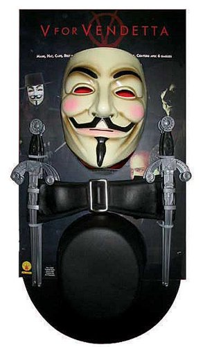 V for Vendetta - Disfraz completo de Guy Fawkes en V for Vendetta: Amazon.es: Juguetes y juegos