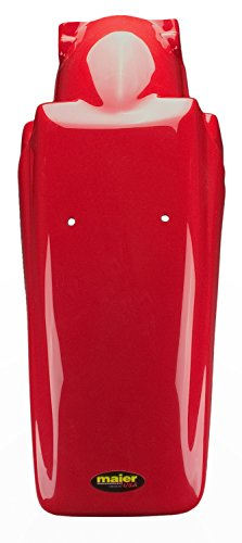 Maier USA Honda XR250R / XR400R MX Style Rear Fender - Fighting Red - 12304-12