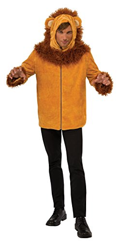 Simple Lion Costumes (Rubie's Costume Co Lion Hoodie- Guy Costume, Standard)