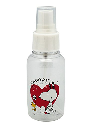 Buy Snoopy and Woodstock Heart Design Mini Plastic Spray Bottle (2.5 fl oz) dispense