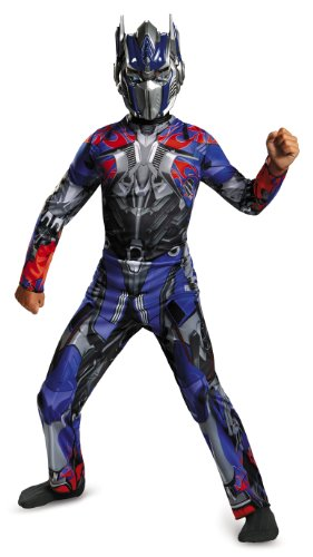 Disguise Hasbro Transformers Age of Extinction Movie Optimus Prime Classic Boys Costume, Large/10-12