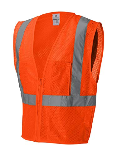 ML Kishigo Ultra-Cool Mesh Vest With Pockets, Orange, Small