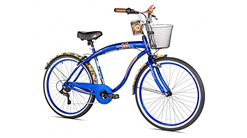 Men's Cruiser Bike by Margaritaville - 7 Speed Coast Is Clea