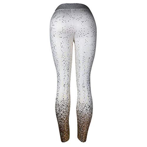 8ae573950dd1ff ODRD Damen Yoga Hosen Pants Gedruckte Yogahosen Frauen Laufhose Sweathose  Jogging Trainingshose Fitnesshose Sweatpants Hose Freizeithose