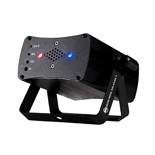 American DJ Micro Royal Galaxian II | Portable Red and Blue