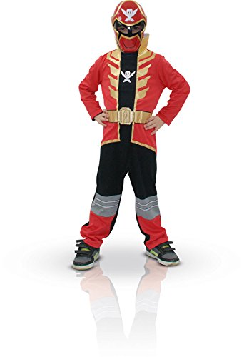 (Red Super Megaforce Power Ranger - Childrens Fancy Dress Costume - Small - 104cm by)