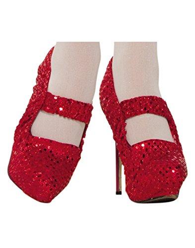 Forum Novelties Adult Snow White Costume Shoe Covers ()