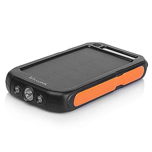 Pudincoco Tollcuudda LFSJ03 Ligero Portátil 12000MAH Banco de Energía Externo Teléfonos Inteligentes Cargador Solar de...