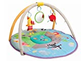 Taf Toys Jungle Pals Gym With Play Mat | Best For New-Born & Babies, Easier Development & Parenting, Colourful, Thickly Padded Mat, Lightweight, Portable, Detachable Baby Play Gym, Best Gift For Sale