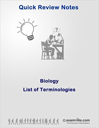 Biology Review: List of Terminologies (Quick Review Notes)