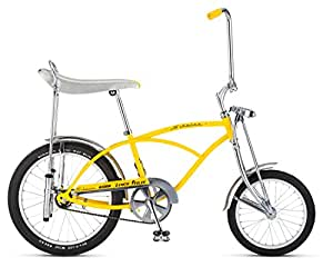 "Schwinn Lemon Peeler Bicycle, 20"" Wheel, Yellow"