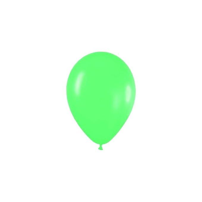 Globos verdes (50): Amazon.es: Juguetes y juegos