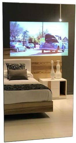 Espejo Multimedia con SmartTV Oculta trás el Cristal (1400 X 700 ...