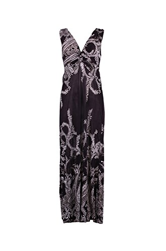 knotted maxi dress - 5