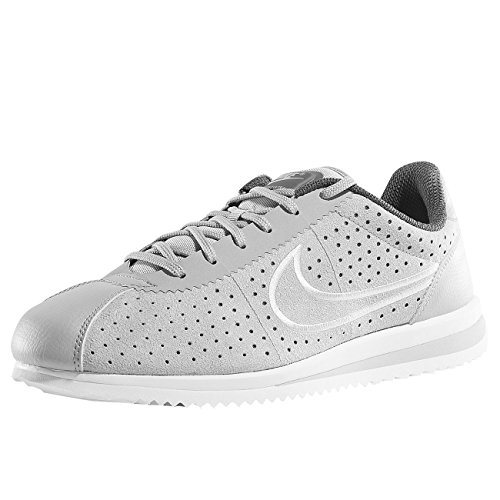 Nike Unisex Adults' Zapatillas Cortez Ultra Moire 2 Wolf White Dark Grey Fitness Shoes Multicolour (Multicolor 918207 002)