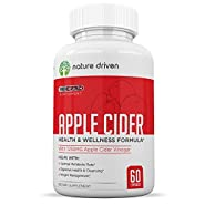 Apple Cider Vinegar Capsules - for Weight Loss, Detox & Digestion - All-Natural Formula - Promotes A Healthy Metabolism - One Month Supply - Nature Driven