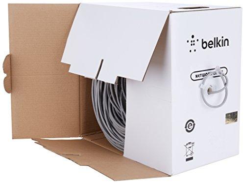 Belkin Cat-5e Bulk Patch Cable (Gray, 1000-Foot Reel) by Belkin (Image #3)'