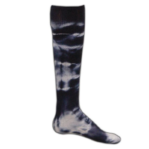Red Lion Revolution Tie Dye Cotton Athletic Tube Socks ( Navy Blue Tie Dyed - Medium )